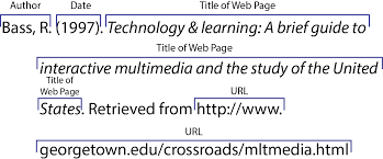 015 Apa Online Website How To Cite In Research Paper