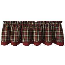 Park Designs Saffron Park Designs Concord Lined Layer Valance 72 X 16