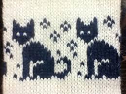 Cat Knitting Chart Ravelry Cat Chart Pattern By Eva Wu