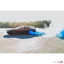 gender reveal burnout tires blue smoke 235 45 r17