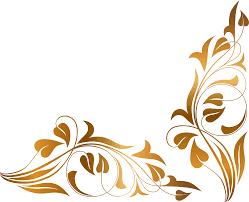 fancy frame border transparent. Brown Floral Border PNG High-Quality Image Fancy Frame Transparent N