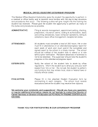 Medical Assistant Resume Templates Free Adorable Medical Assistant Internship Jobs Funfpandroidco
