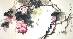 chinese flower paintings gs