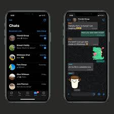 What you share with your friends and family stays between you. Whatsapp Dark Mode Now Available For Ios And Android The Verge