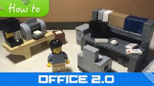 how to make office desk. interesting desk how to make lego office furniture moc 21 extended collection  youtube for to make desk