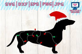 My goal is to always keep hello svg free for personal and commercial use, but running a popular free download site can get costly. Dachshund Svg Dog Svg Winter Svg Christmas Svg 121518 Cut Files Design Bundles