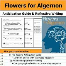 best flowers for algernon ideas high school flowers for algernon anticipation guide reflection