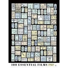 100 Chart Poster 100 Essential Films Scratch Off Chart Poster