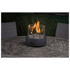 10 outdoor patio entertainment lp propane gas round tabletop fire pit bowl new