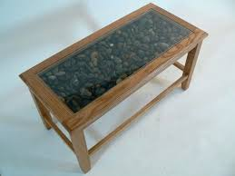 glass display coffee table italian stone and tables