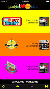 Myx Charts App For Iphone Free Download Myx Charts For