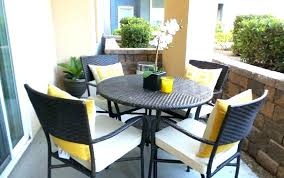 balcony patio furniture. Small Patio Table Ideas Furniture Outdoor For Balcony Large Chairs Composite With Wicker Prepare 9 Space