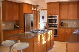 Stainless Steel Kitchen Light Fixtures Modern Kitchen Light Fixtures Brown Round Stained Wooden Stainless