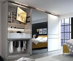 Kleiderschrank Mit Led Beleuchtung Und Tv Fach Unikate Ikea Schrank