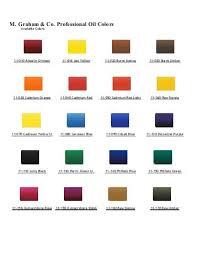 M Graham Color Chart M Graham Watercolor Chart New Color Chart Download M Graham