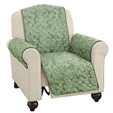 paisley furniture. paisley reversible furniture protector cover sage recliner p