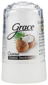 Купить Grace <b>дезодорант</b>, <b>кристалл</b> (минерал), Coconut, 70 г по ...