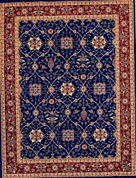 red and blue oriental rug 8x10 green