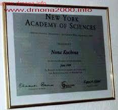 dr nona Доктор Нона новости публикации мертвое море Израиль Диплом Академии наук Нью Йорк США