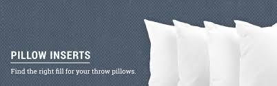 Bulk Pillow Inserts