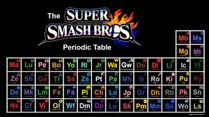 The Super Smash Bros Periodic Table | Super Smash Brothers | Know ... via Relatably.com