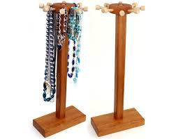 Wooden Necklace Display Stands 100 Necklace Display Stand Best 100 Earring Display Ideas On 55