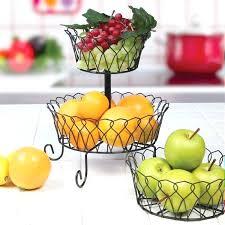 fruit holder for kitchen 3 tier metal wire basket fruit rack holder kitchen bath organizer storage fruit holder for kitchen