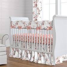 light c cherry blossom crib bedding
