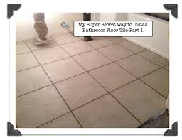 Bathroom Tile Repair Awesome How To Install Bathroom Floor Tile Part 48 PreInstallation Tips
