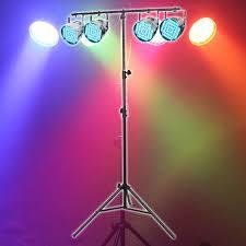 eqled015c equinox party par pack led par 56 can lighting package