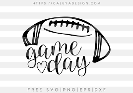 World of warcraft is my main game and the majority of my content. Free Football Game Day Svg Png Eps Dxf By Caluya Design