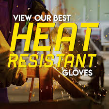 <b>Heat Proof Oven</b> Gloves - SafetyGloves.co.uk