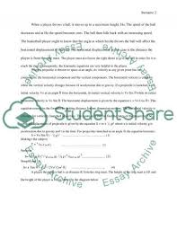 investigating the physics of basketball research paper investigating the physics of basketball essay example