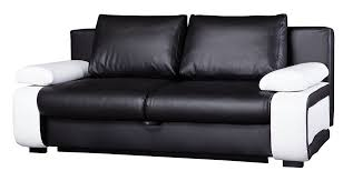 awesome black sofa bed with decor leather sofa beds home design ideas