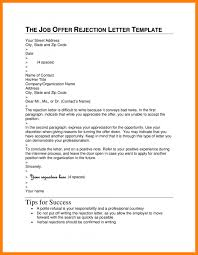 7 How To Respond To A Job Rejection Email Sample Barber Resume