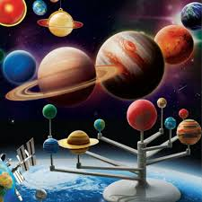Details About Planetarium Solar System Model Nine Planets Astronomy Science Diy Project Gift