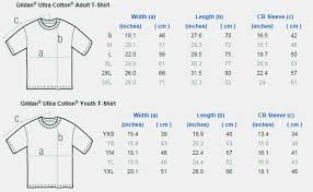 Gildan T Shirts Uk Size Chart Dreamworks