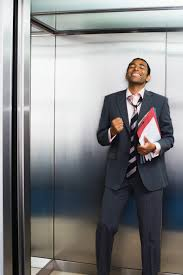 people in elevator. elavator speech 16.05.2017 people in elevator