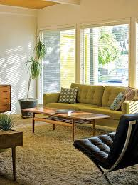 Retro Modern Living Room Cool Decorating