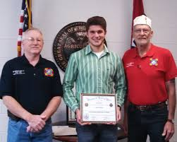 district students win patriotic essays in national vfw in the high school voice of democracy contest greenbrier high school s tristan m da won first place in the county and placed second in district