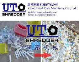 Medical Chart Shredding Solid Waste Shredder Medical Waste Shredder Double Shaft