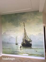 Prachtig Fotobehang Van Het Schilderij Kalme Zee Van Mesdag Mijn
