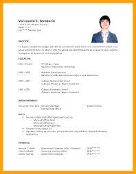 Examples Of Objective Statements On Resumes Job Objective Statement Examples Resume Sample For Fabulous