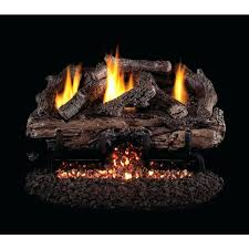 gas fireplace log sets real charred frontier oak vent free gas log set gas fireplace log sets home depot