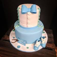Baby Boy 1st Birthday Cake Cake By Della Kelley Cakesdecor