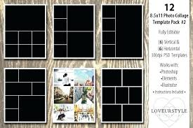 Picture Collage Templates Free Download Few Of The Most Popular Collage Template Ideas Pertaining To