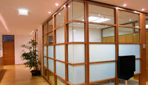 Wood Office Partitions Wooden Partition Designs Living Room