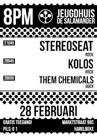 8pm Stereoseat Kolos Them Chemicals Jh De Salamander