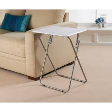 folding side table living room furniture b m within designs 8