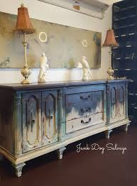 painting furniture ideas color. Like An Old Pair Of Jeans, Annie Sloan Colors Wears Well On This Midcentury Long · Paint Techniques FurnitureChalk Painting Furniture Ideas Color D